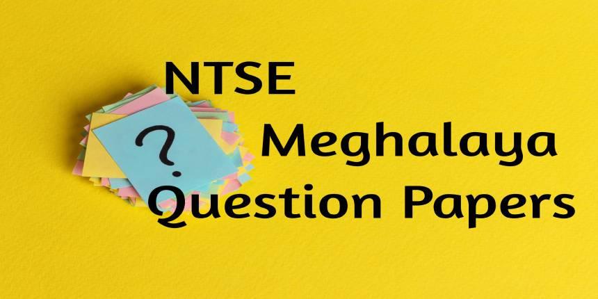 NTSE Meghalaya Question Papers 2020