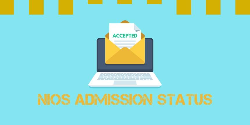 NIOS Admission Status 2020