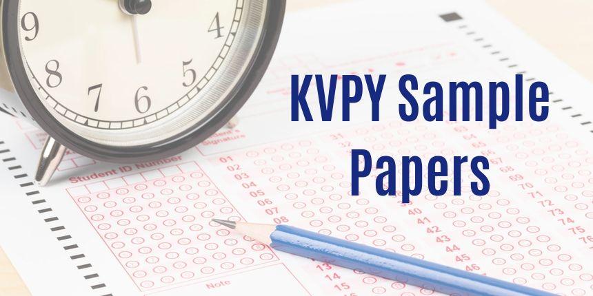 KVPY Sample Papers 2019