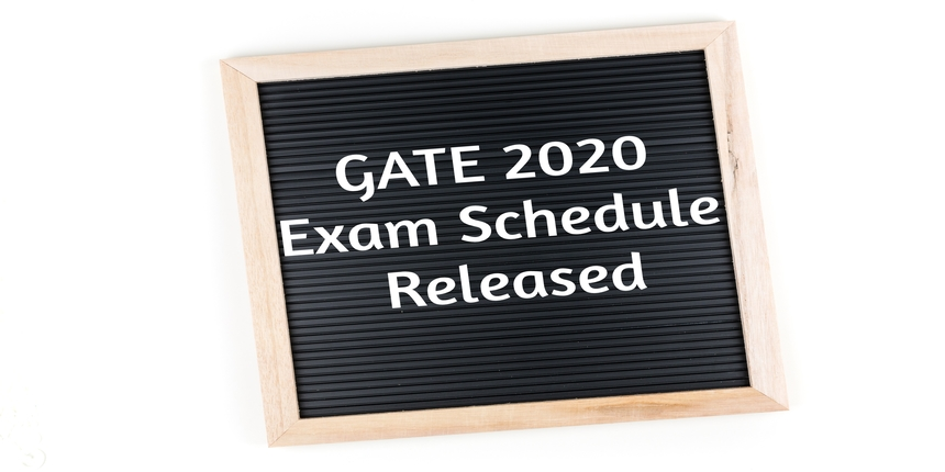 GATE 2020 exam schedule released, check your test date