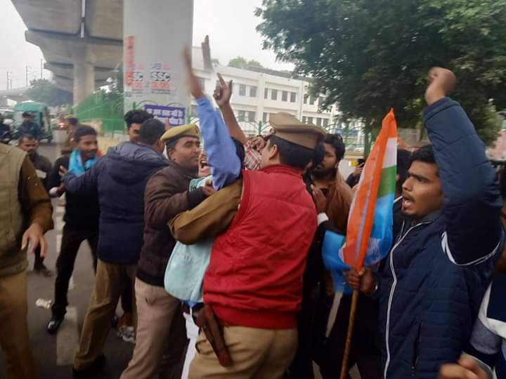 Protests, FIRs at Lucknow University following alleged law paper leak