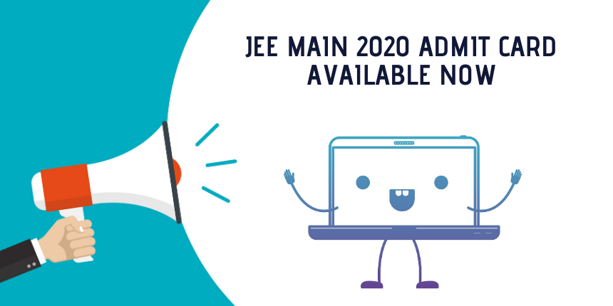 JEE Main 2020 admit card released, check where and how to download