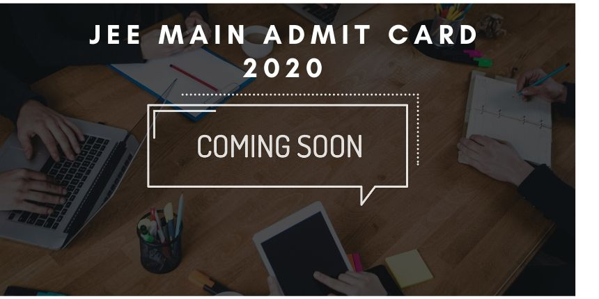 JEE Main 2020 admit card releasing today, more details here