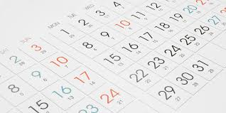 St. Xavier's BMS Important Dates 2019