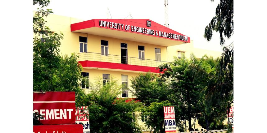 UEM Jaipur 2019 application form available now for B.Tech courses