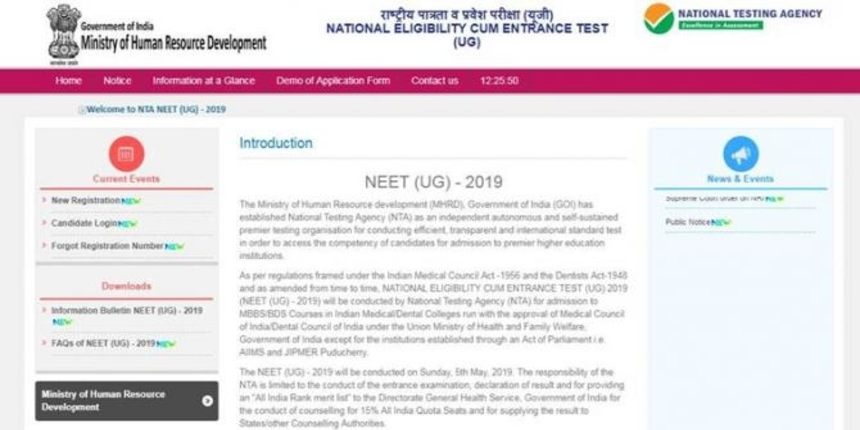 NEET Admit Card 2019 can be released anytime soon at NTANEET website