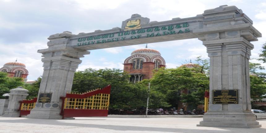 University of Madras Admission 2019