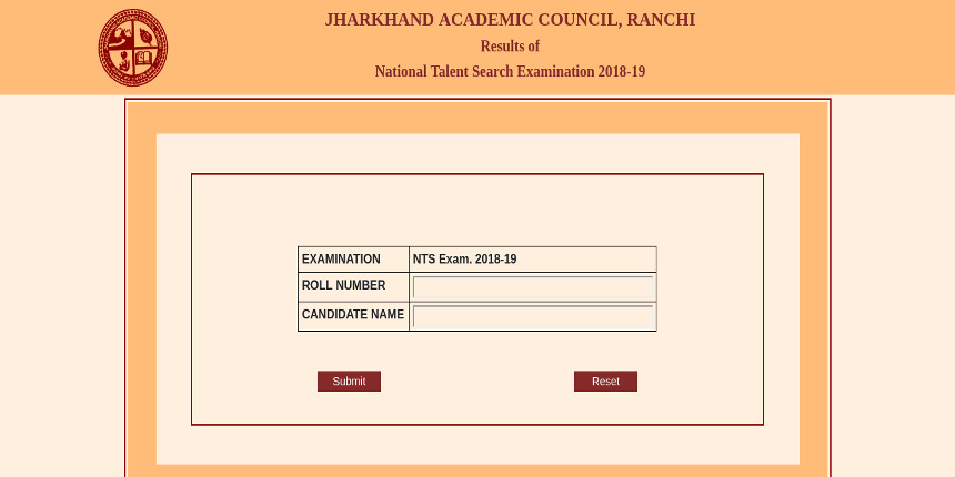 NTSE Jharkhand Result 2019 released
