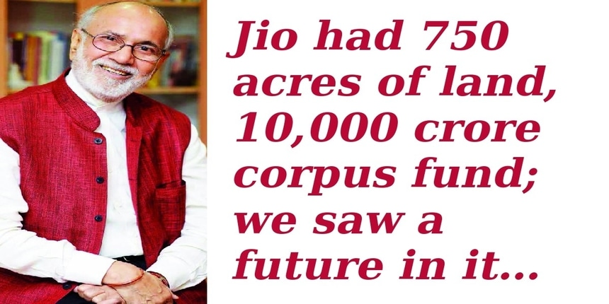 """Jio had 750 acres of land, Rs. 10,000 crore corpus fund; we saw a future in it: Dr. Pritam Singh, Member, IoE"