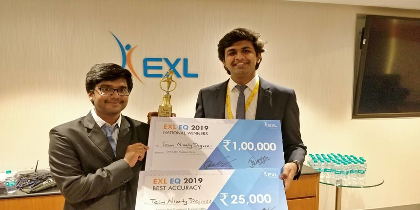 IIT Kharagpur students win EXL Excellence Quotient 2019