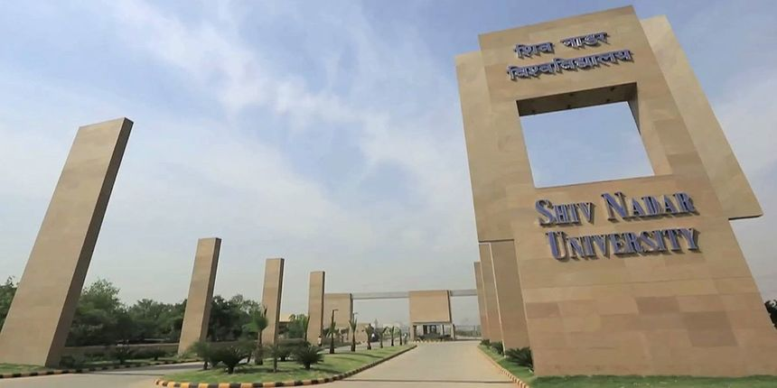 Campus life at Shiv Nadar University
