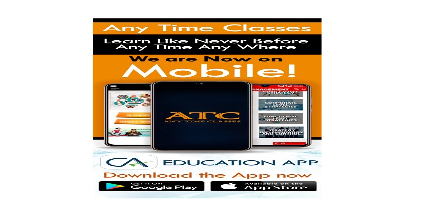 Any Time Classes launches Android App for CA Students