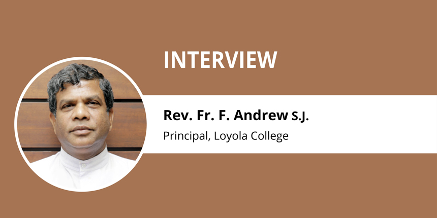 """""""Conventional Courses Hold Relevance for All Times"""" - Rev. Fr. F. Andrew, S.J."""