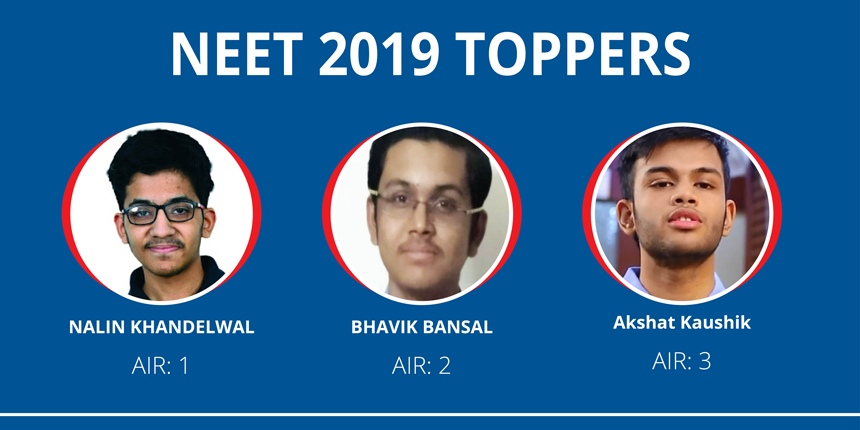 NEET 2019 Toppers - Know the Toppers Name, All India Rank, Score