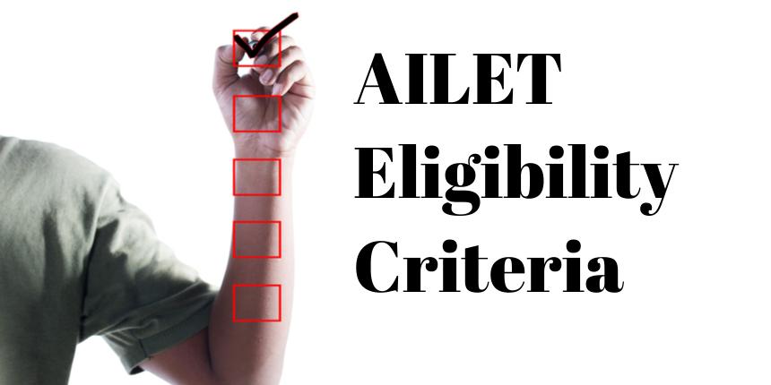 AILET Eligibility Criteria 2020