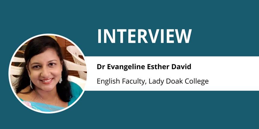 Extensive use of technology sets us apart -  Dr Evangeline Esther David
