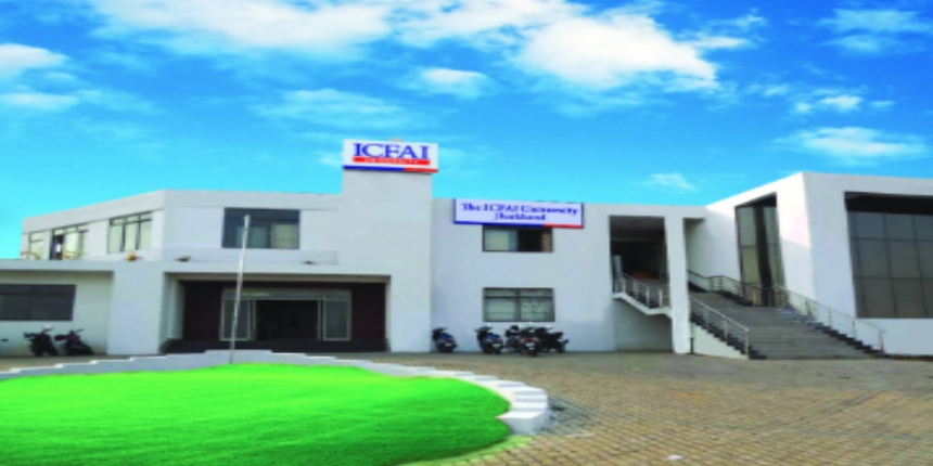 ICFAI University Jharkhand announces UG admissions for 2019-20