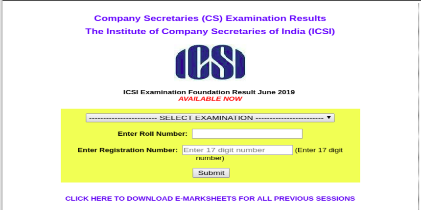 ICSI declares CS Foundation 2019 result; 387 candidates feature in merit list