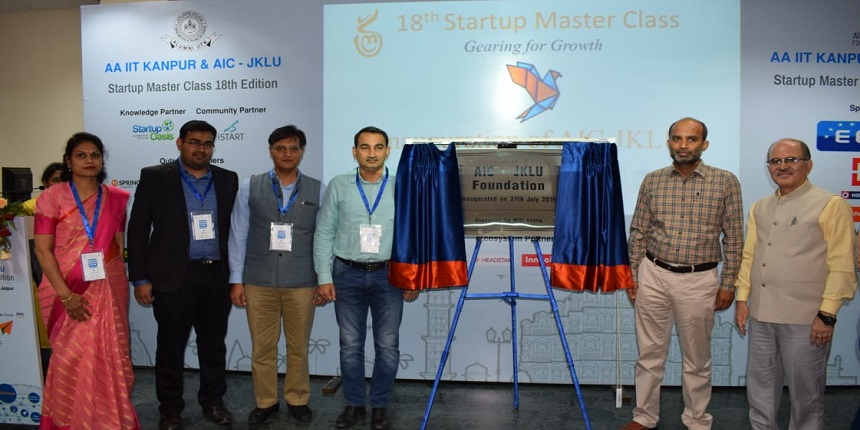 JKLU conducts 18th edition of Startup Master Class with NITI Aayog and IIT Kanpur