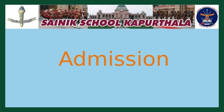 Sainik School Kapurthala Admission 2020