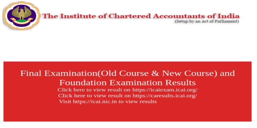 ICAI releases CA Final & Foundation 2019 toppers' list, pass percentage