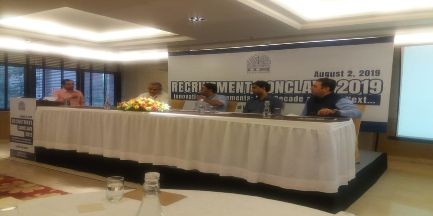 IIM Ahmedabad Recruitment Conclave 2019: Stakeholders bat for digitisation