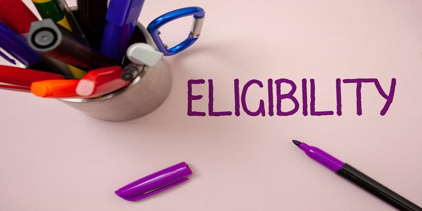 SRMJEEE Eligibility Criteria 2020