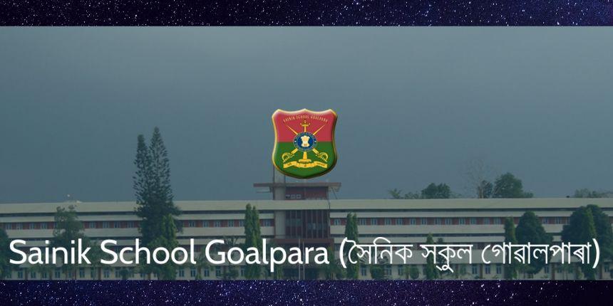 Sainik School Goalpara Admission 2020