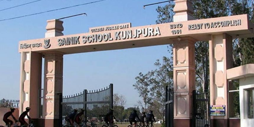 Sainik School Kunjpura Admission 2020