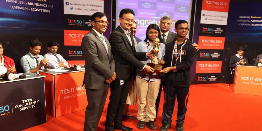 Presidency School wins Bangalore Edition of TCS IT Wiz 2019