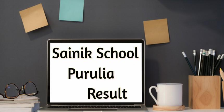 Sainik School Purulia Result 2020