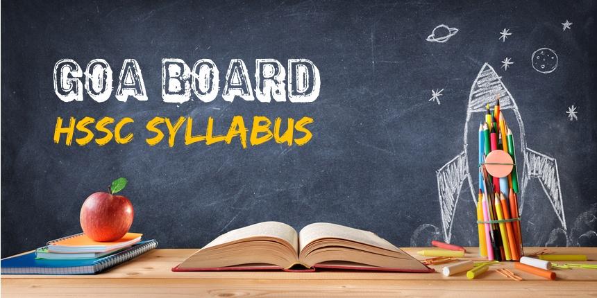 Goa board HSSC syllabus 2020