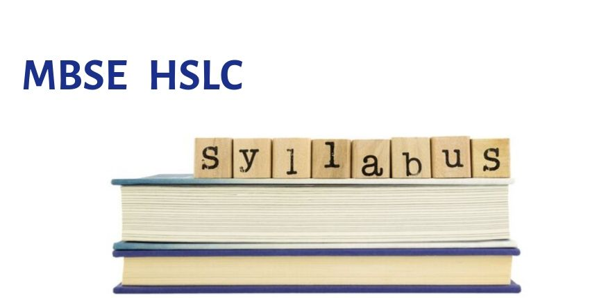 MBSE HSLC Syllabus 2020