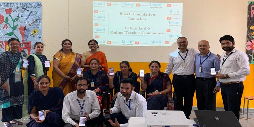 Bharti Foundation & OpenLinks Foundation to launch tickLinks 2.0 mobile App for teachers