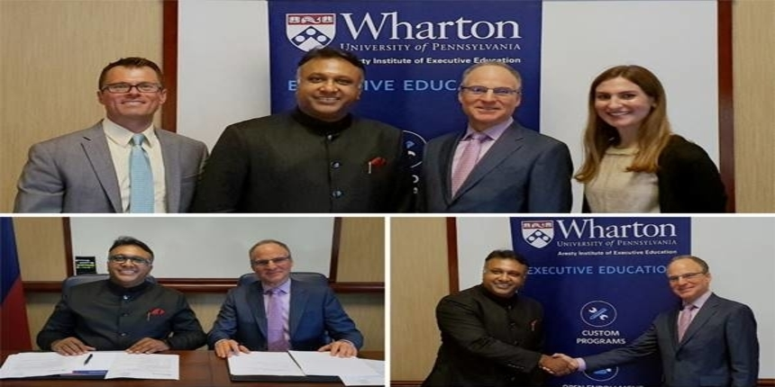 Jindal Global students to study in Wharton School