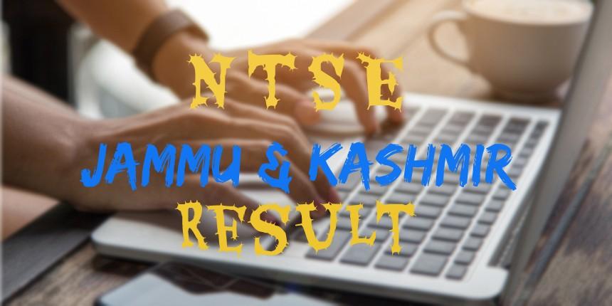 Jammu & Kashmir NTSE Result 2020