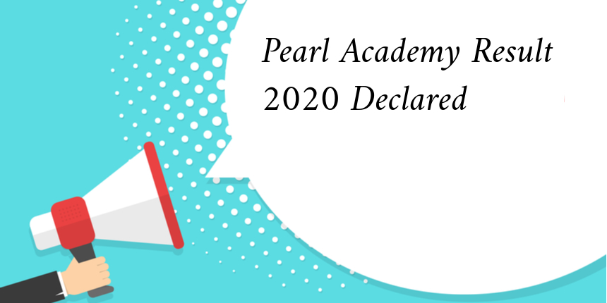 Pearl Academy 2020 Result declared,Check now!