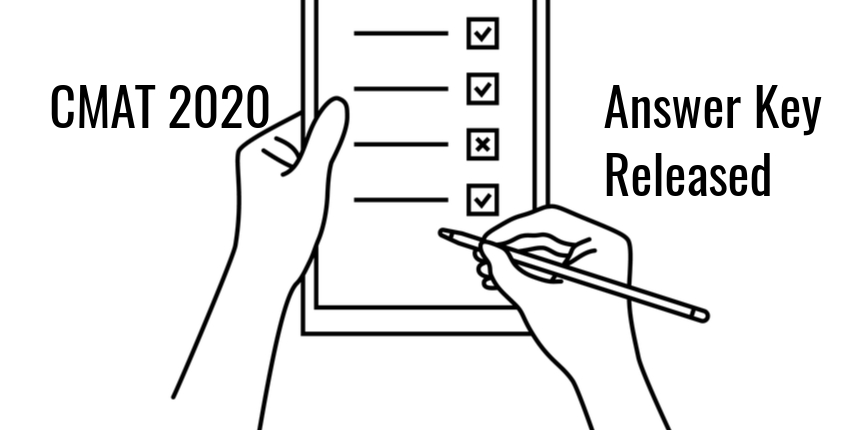 CMAT 2020 Official Answer Key Released, Check last date to challenge