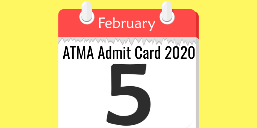 ATMA 2020 Admit Card to Release on February 5