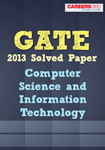 GATE Computer Science & Information Technology-CS & IT Solved Paper 2013