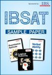IBSAT Model Paper 1