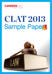CLAT 2013 Sample Paper