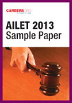 AILET 2013 Sample Paper