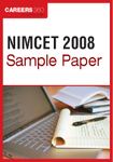 NIMCET Sample Paper 2008