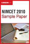 NIMCET Sample Paper 2010