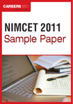 NIMCET Sample Paper 2011
