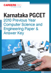Karnataka PGCET 2010 Previous Year Computer Science and Engineering Paper