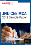 JNU CEE MCA 2012 Sample Paper