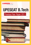 UPESEAT B.Tech Previous Year Paper 2011