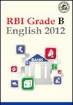 RBI Grade B - English 2012
